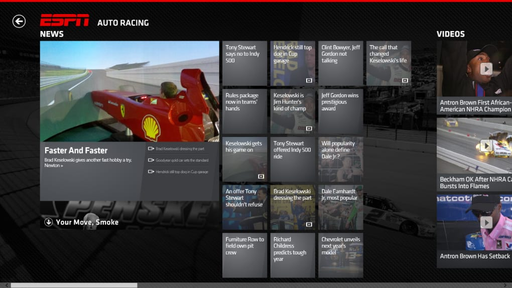 The ESPN App for Windows 10 (Windows) - Download