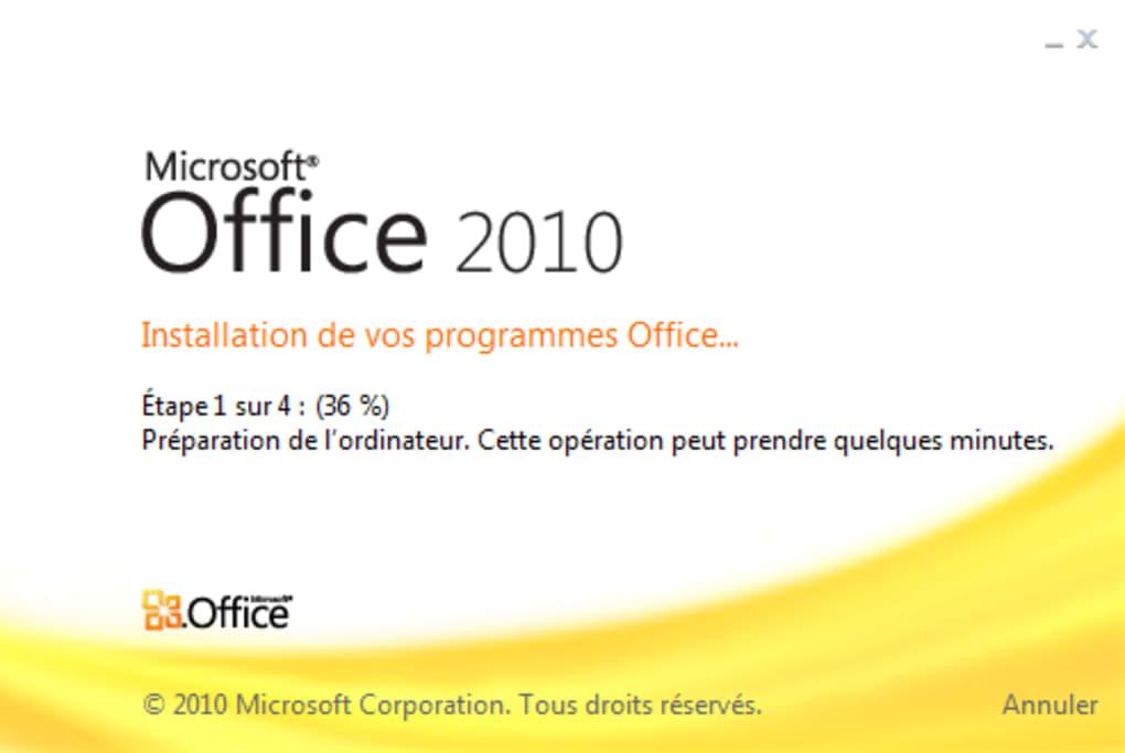 Microsoft Office 2010 Télécharger