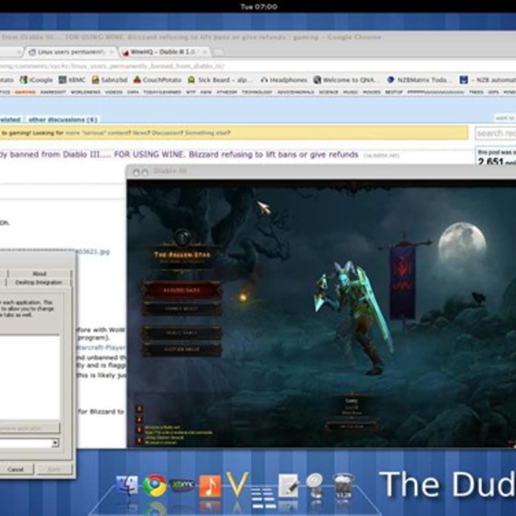 wine windows emulator for mac free