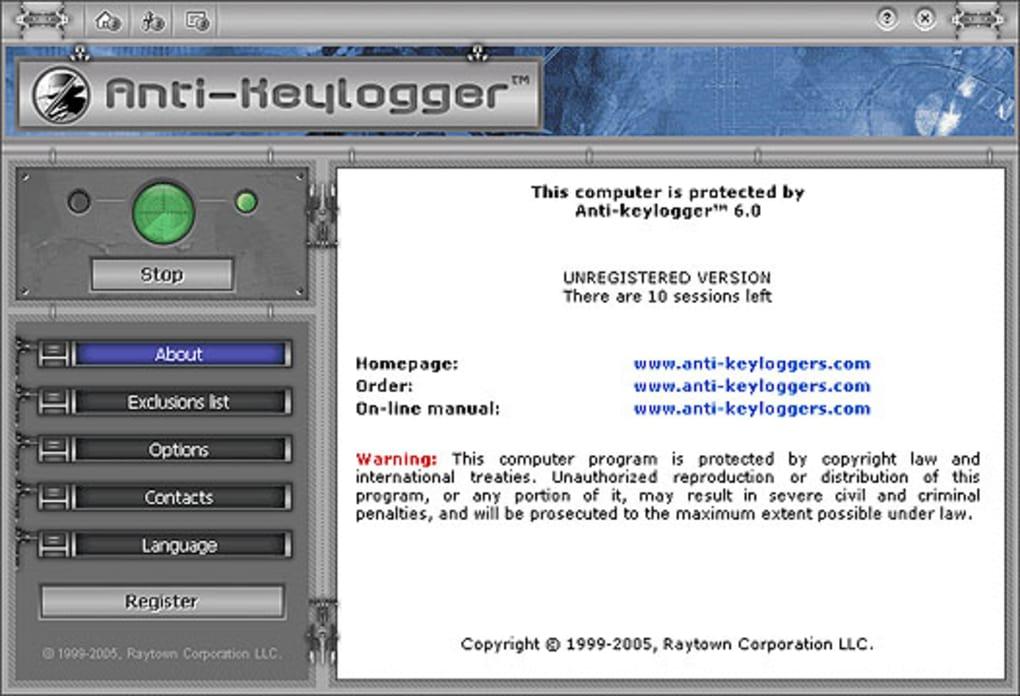 Anti-keylogger - Download