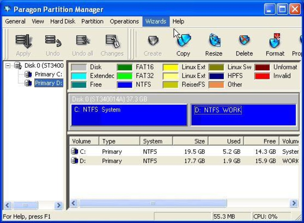 magic partition manager