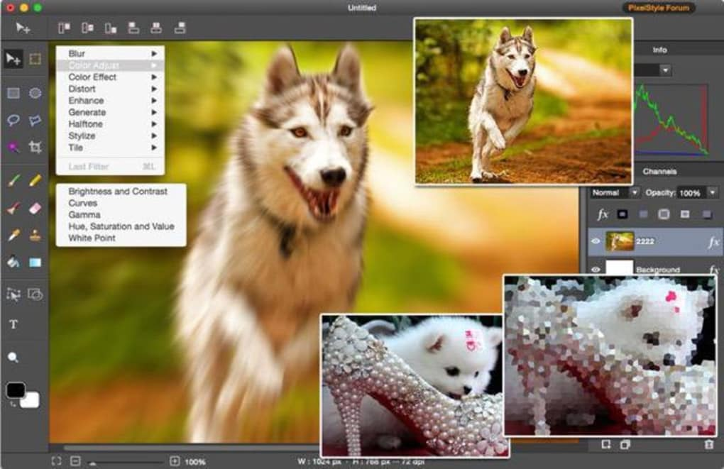 Photo image editor pixelstyle download