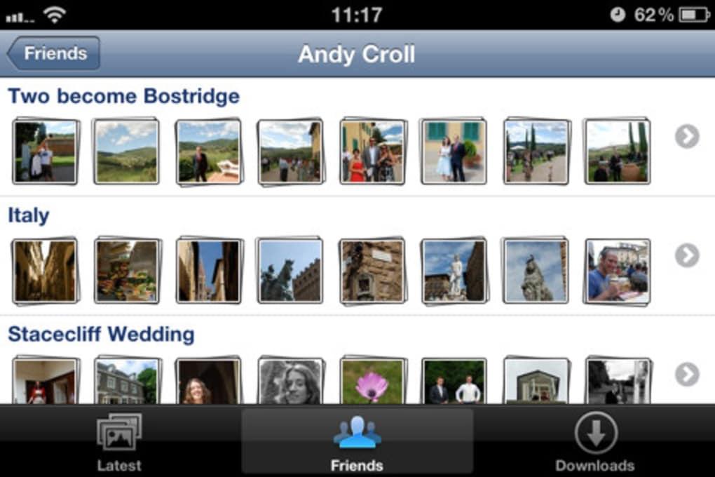 Fotobook Lite for Facebook for iPhone - Download