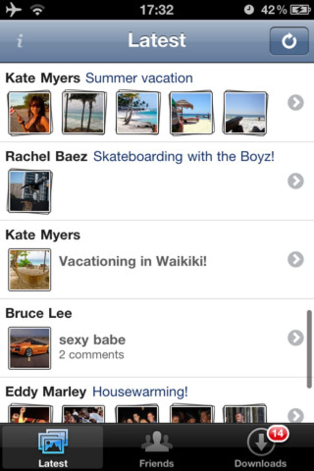 Fotobook Lite for Facebook for iPhone - Download