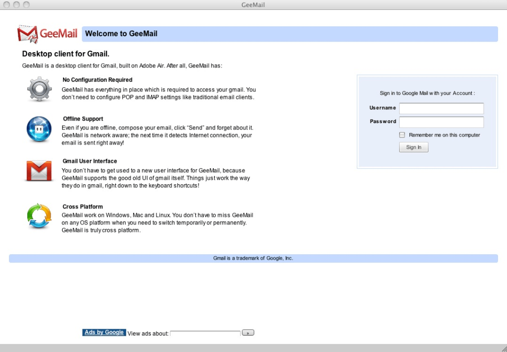 GeeMail for Mac - Download