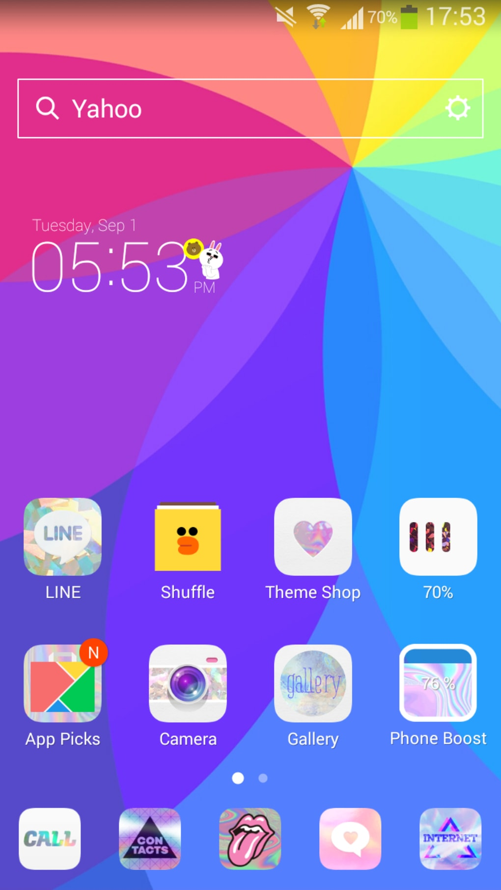 LINE Launcher for Android - Download