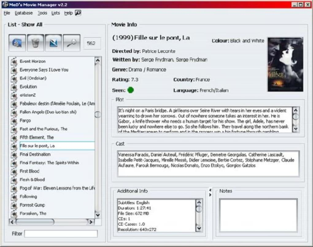 programa para catalogar peliculas mac