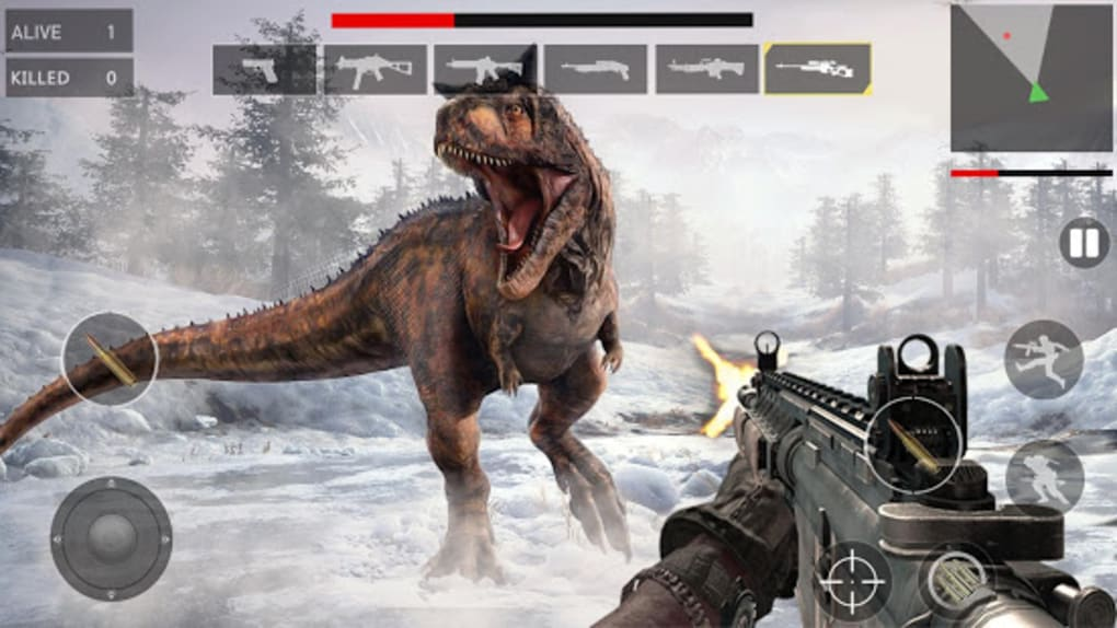 Dinosaur Hunter 3D Free - Dinosaur Games for Android - Download