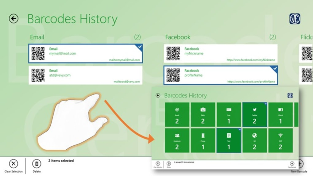 Barcode generator for Windows 10 (Windows) - Download