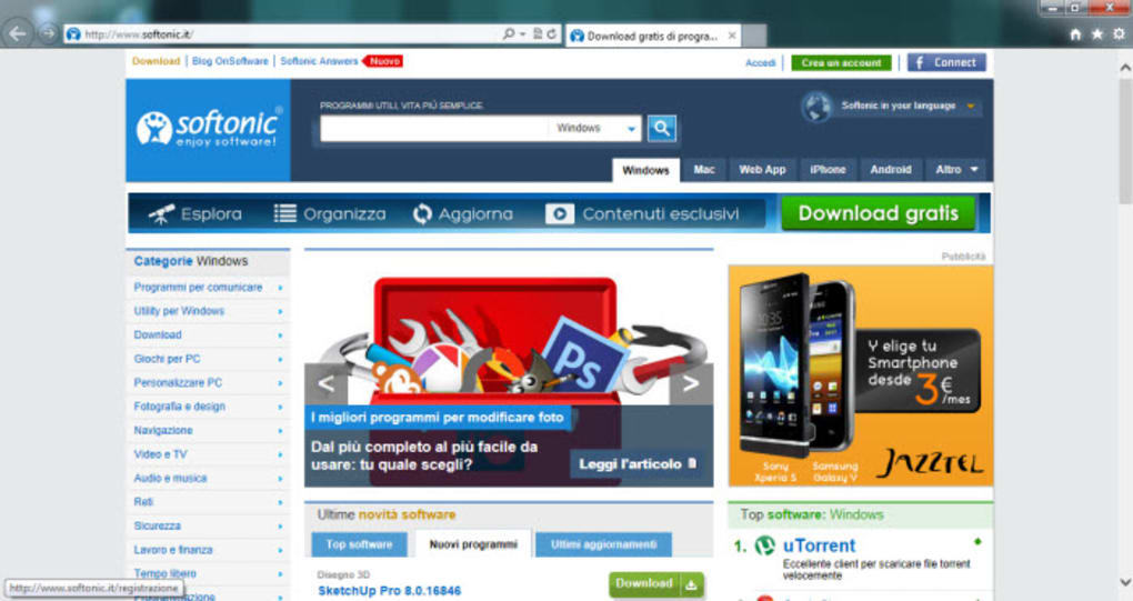 Internet Explorer 10 per Windows 7 (Windows) - Download