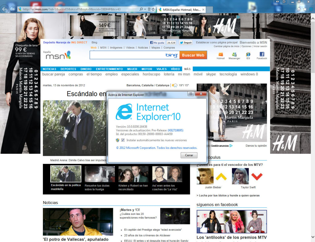 Internet Explorer 10 - Download