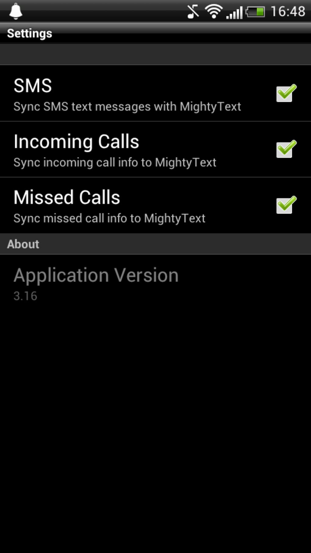 Mightytext for Android - Download