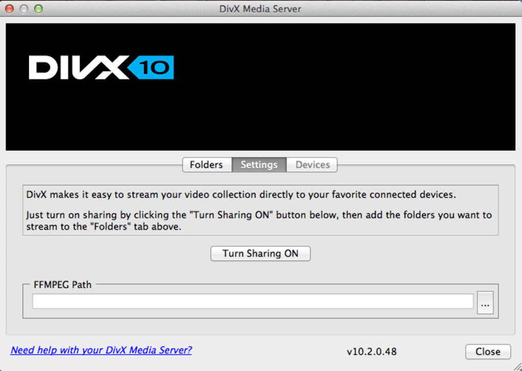 Get the best divx codec alternative for mac