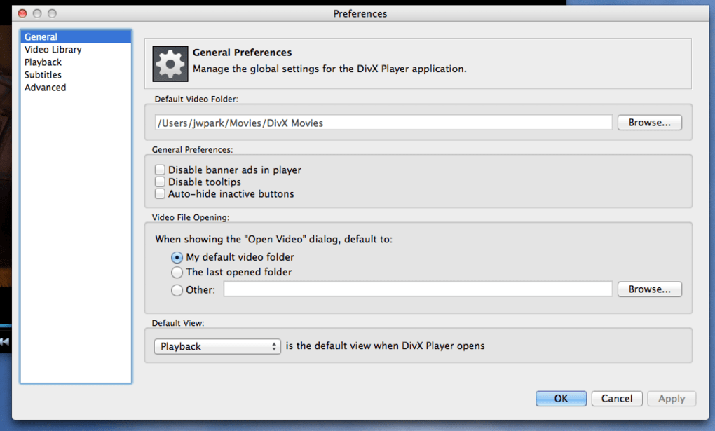 free divx player for mac 10.4