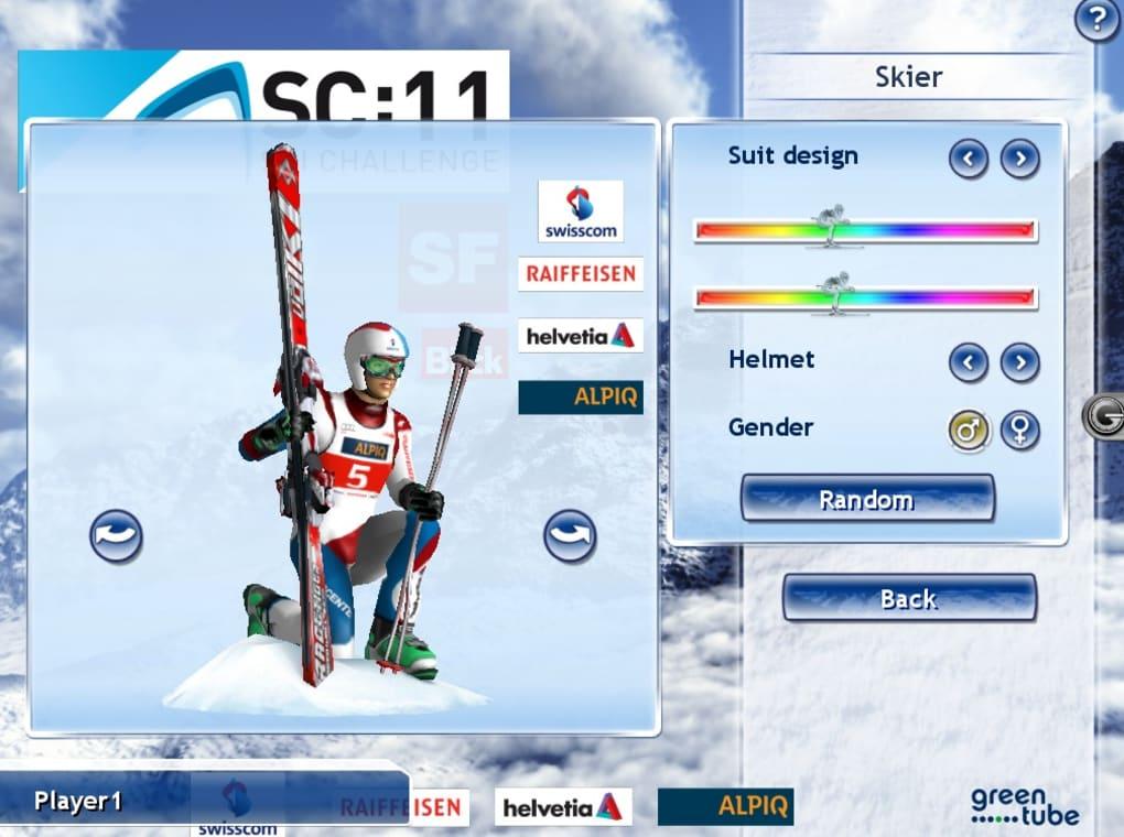 orf ski challenge 2012