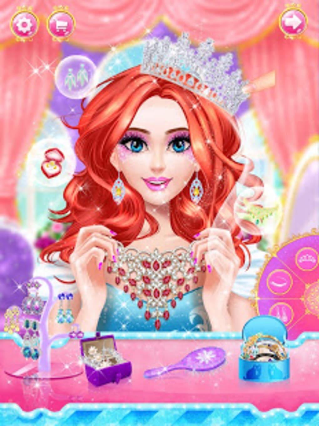 free princess makeover games