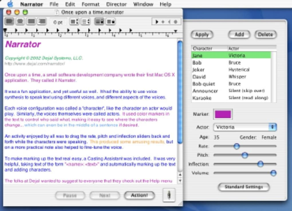 Narrator for Mac - Download