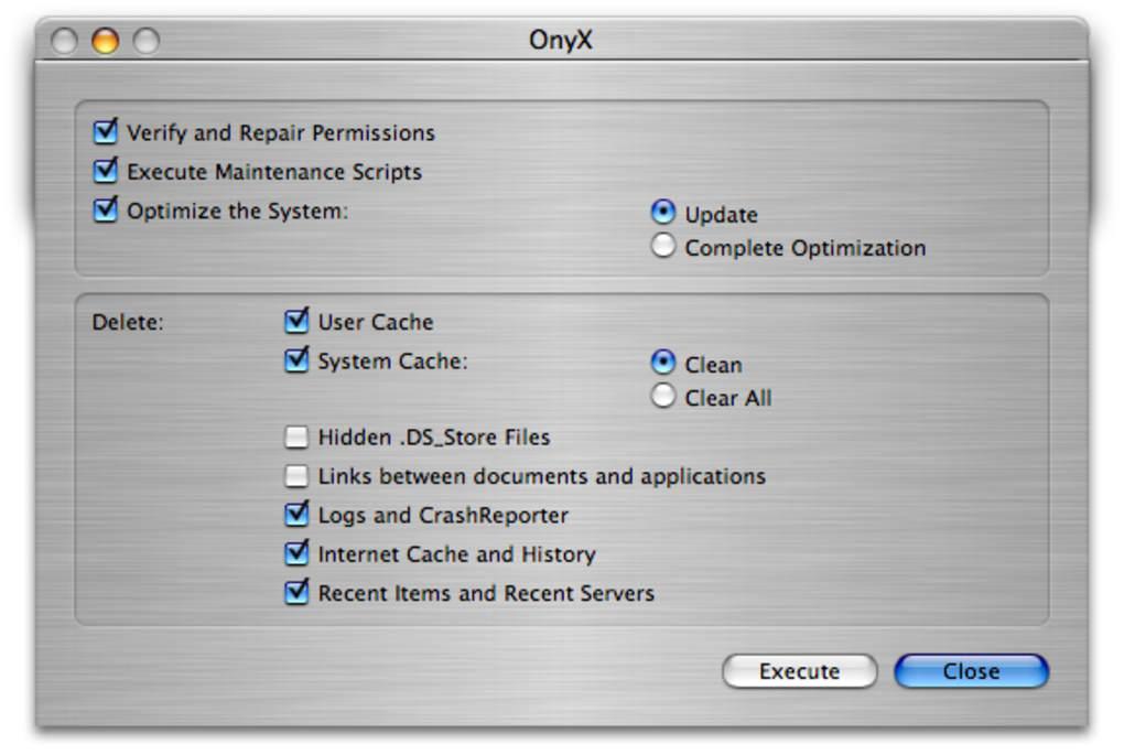 onyx mac 10.9.5