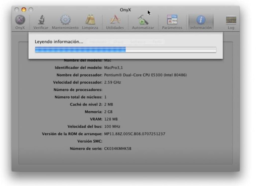 ONYX MAC 10.11.6 TÉLÉCHARGER