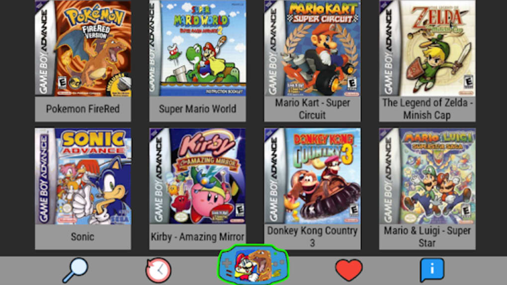gba emulator games free download for pc