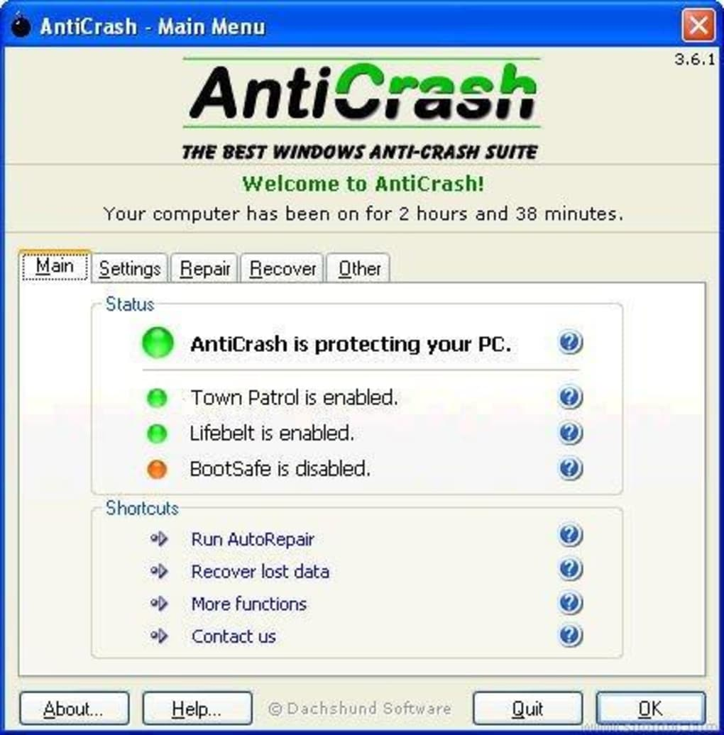 anti crash 3.6.1