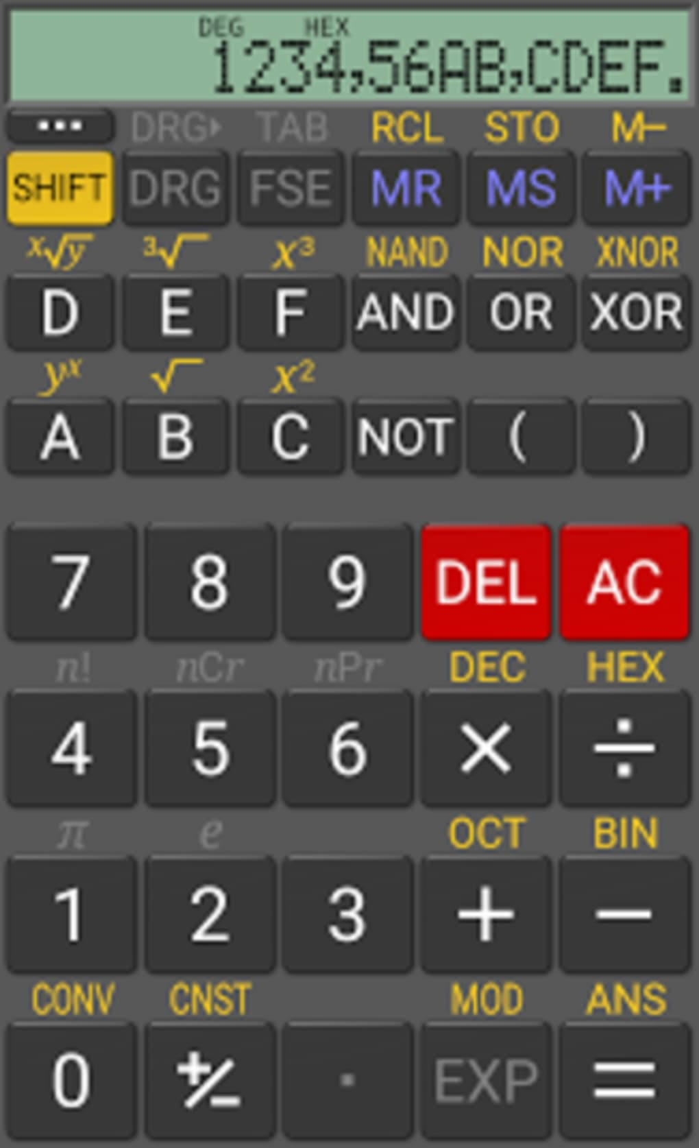 realcalc scientific calculator apk for android