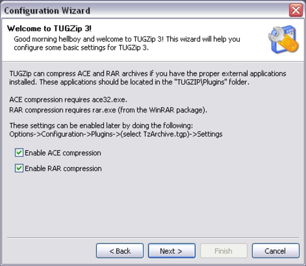 tugzip windows 7