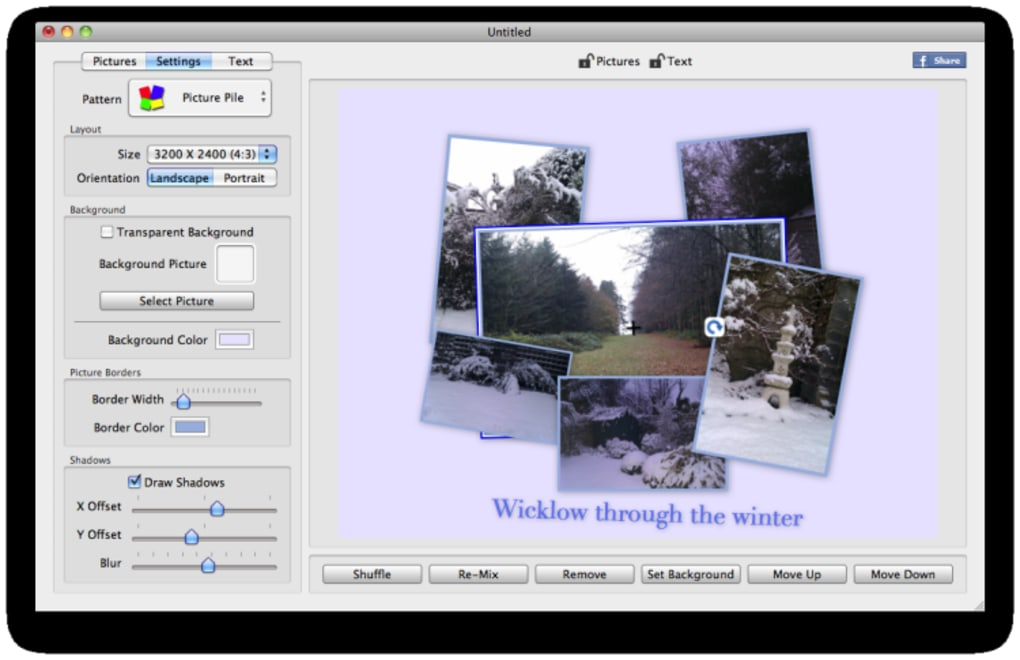 Free collage creator for Mac