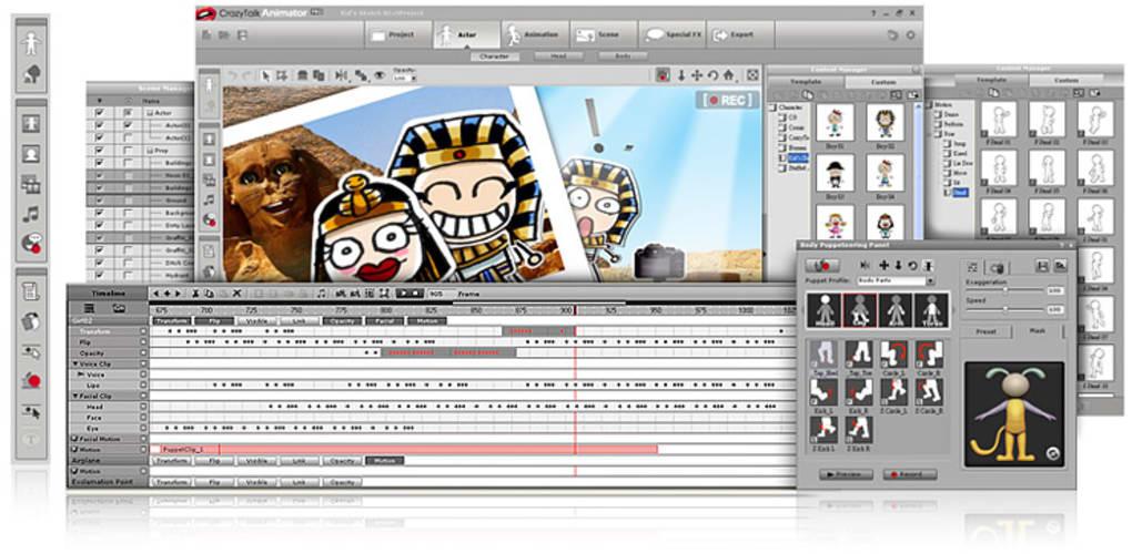 crazytalk animator pro gratuit