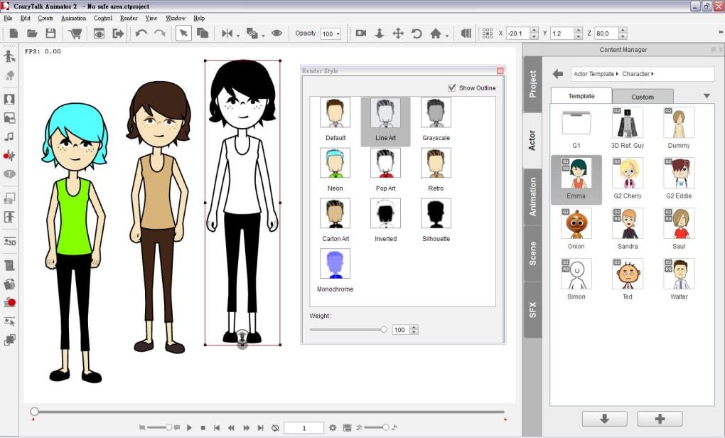 Crazy Talk Animator - Download