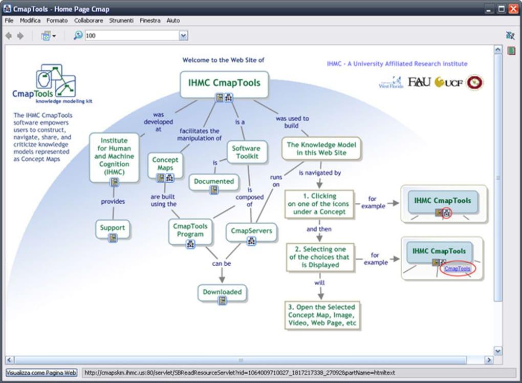 programma per fare mappe concettuali