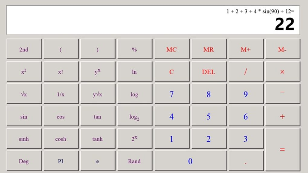 Calculator X8 for Windows 10 (Windows) - Download