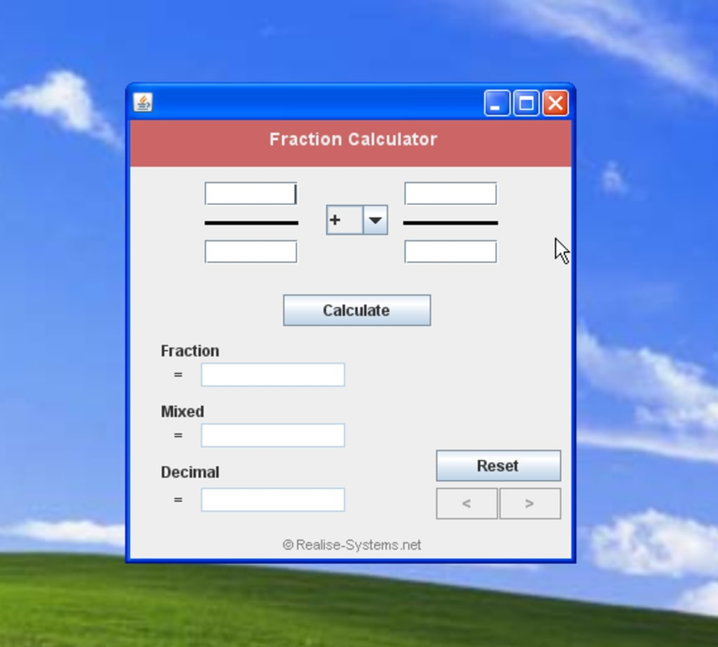Free Fraction Calculator - Download