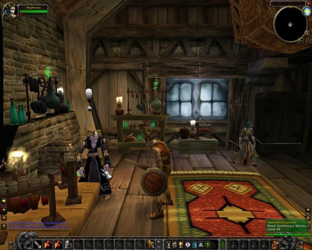 World of Warcraft wallpaper featuring Rogue Wallpaper