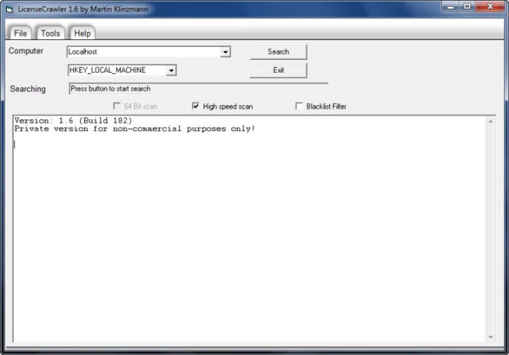 LicenseCrawler 1.10.0.230 Serial Key