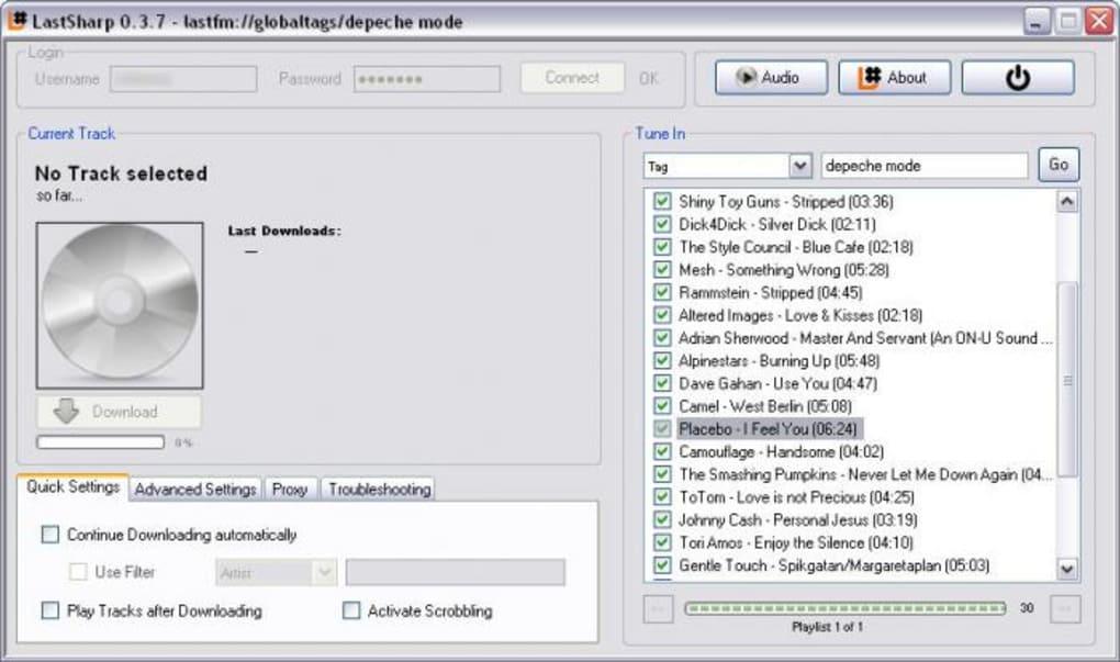 LastSharp - Download