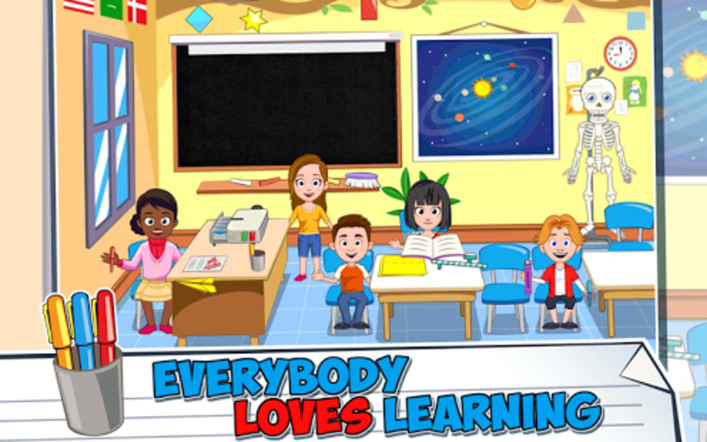 my town school for android download