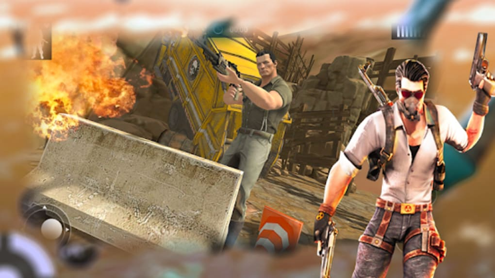 Online Free Fire Survival Battlegrounds 3d لنظام Android