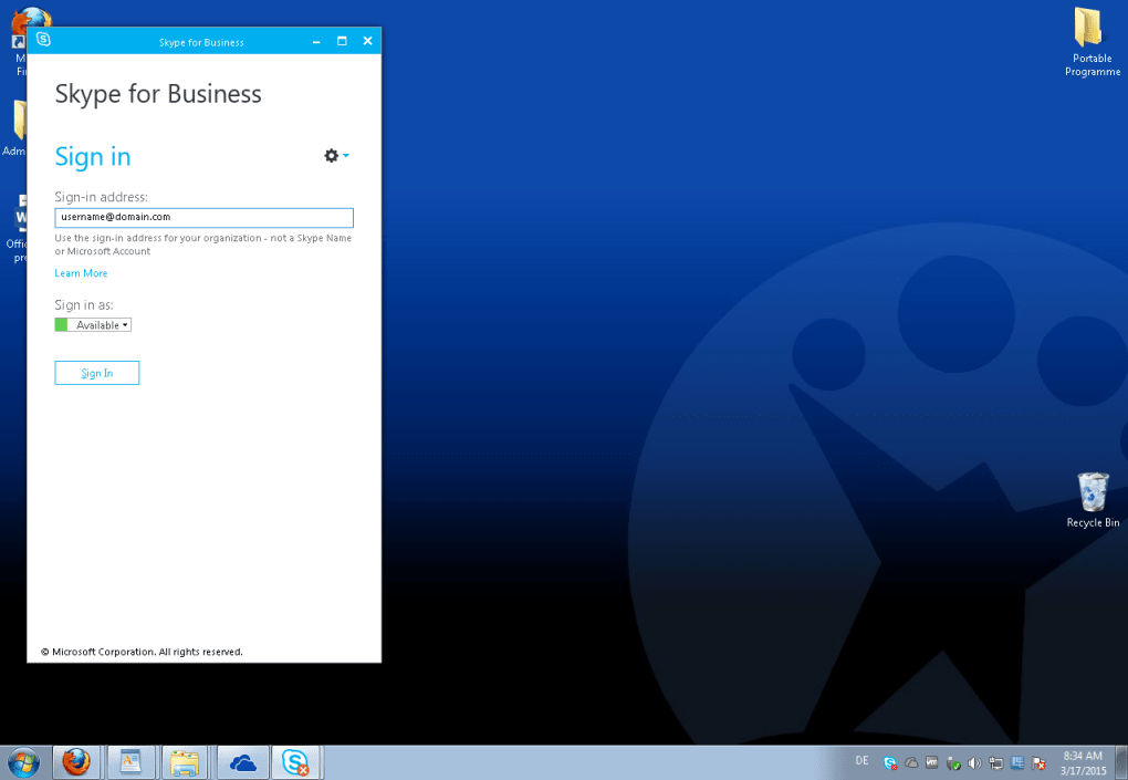 Skype for Business - Download
