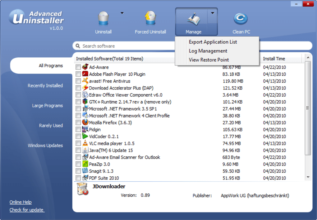 iobit uninstaller pro 8.5.0.6 license key