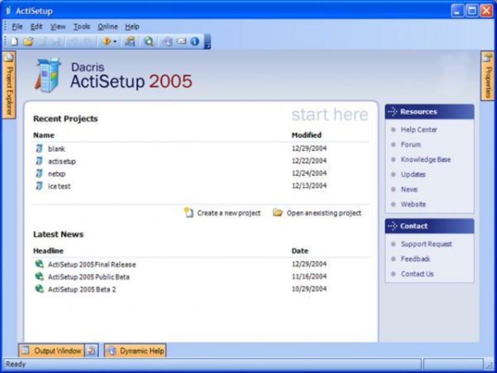 ActiSetup - Download