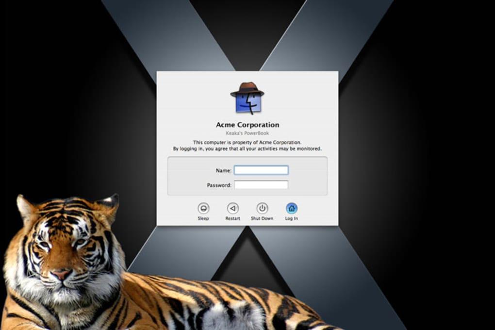 Visage Login for Mac - Download