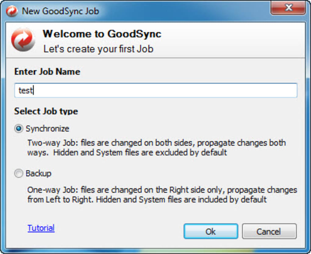 GoodSync - Download