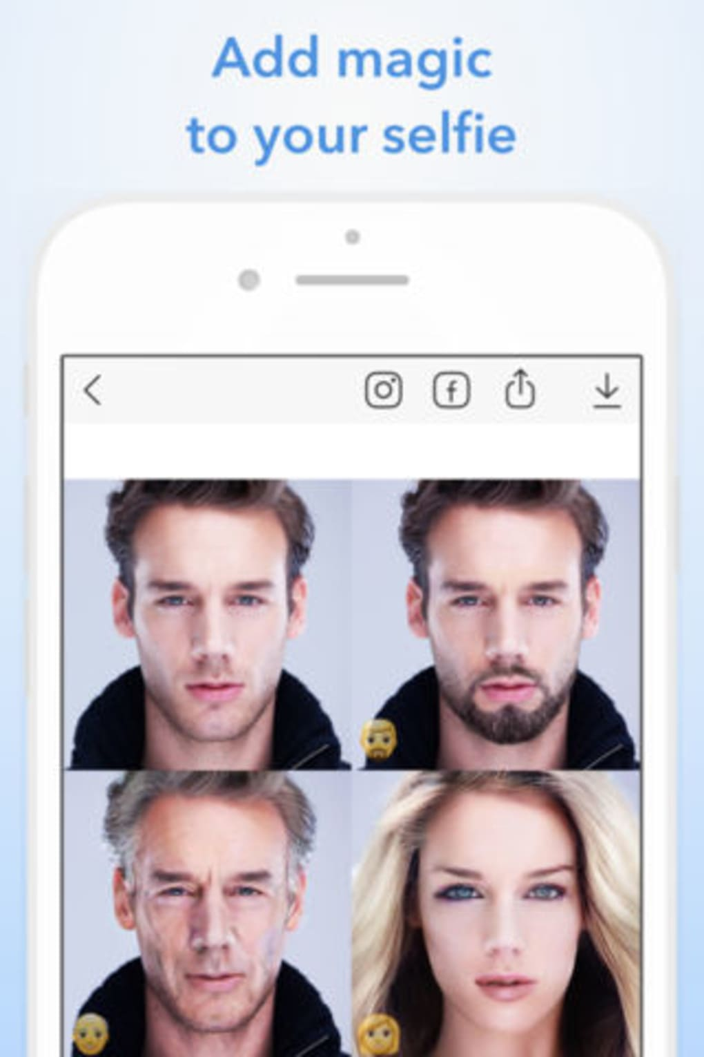 FaceApp for iPhone - Download