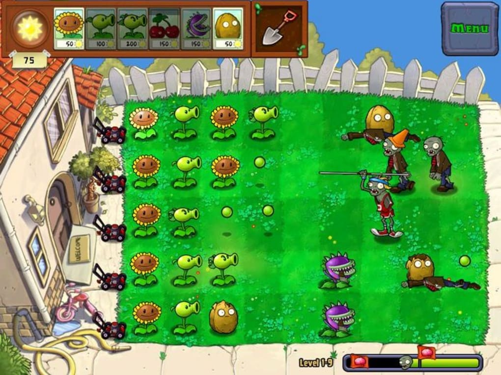 plants vs zombies free download for pc full version no trial