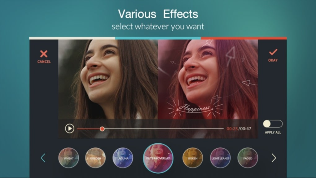 Android için FilmoraGo - Video Editor Video Maker For YouTube APK - İndir