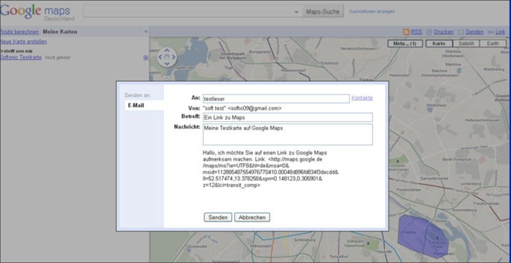 Entfernungsmessung Mit Google Maps : Entfernungsmessung mit google maps: laufstrecke maps
