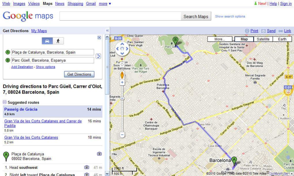 Online map Map creator