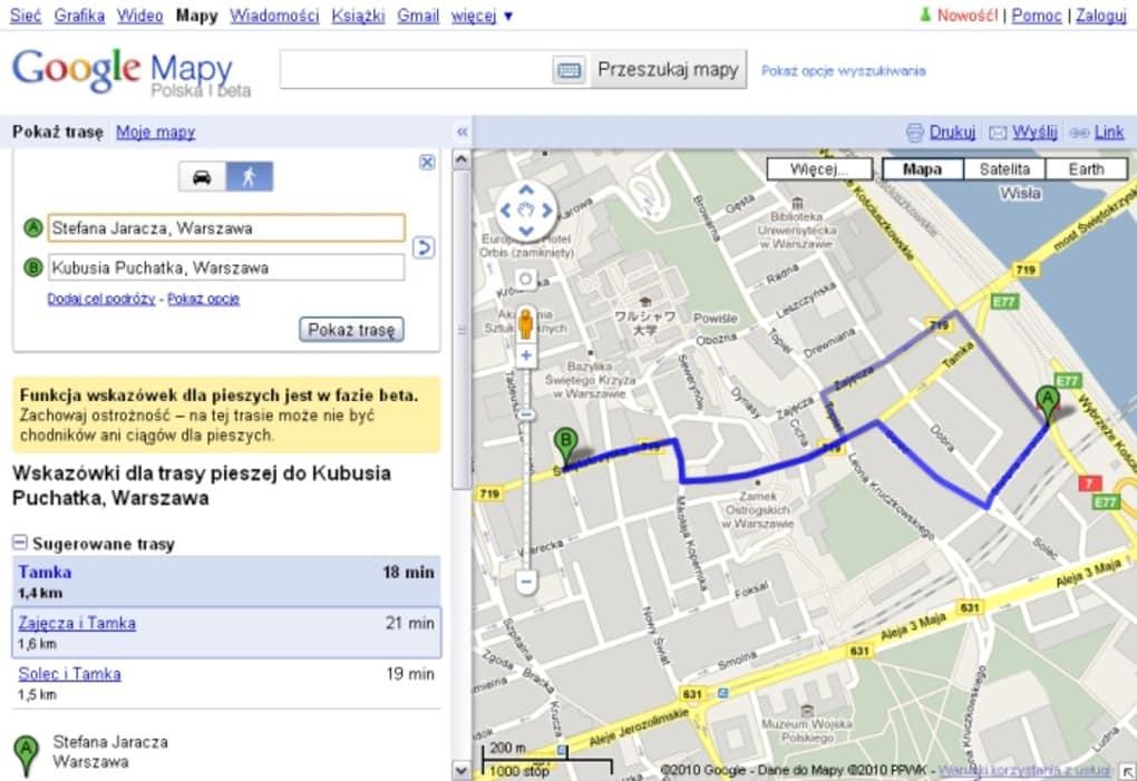Google Maps Online