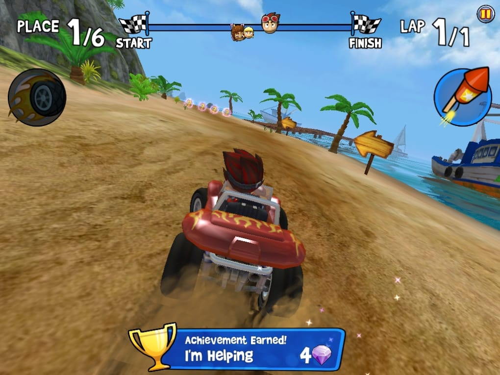 Скачать Beach Buggy Racing 2 1.1.0 на андроид